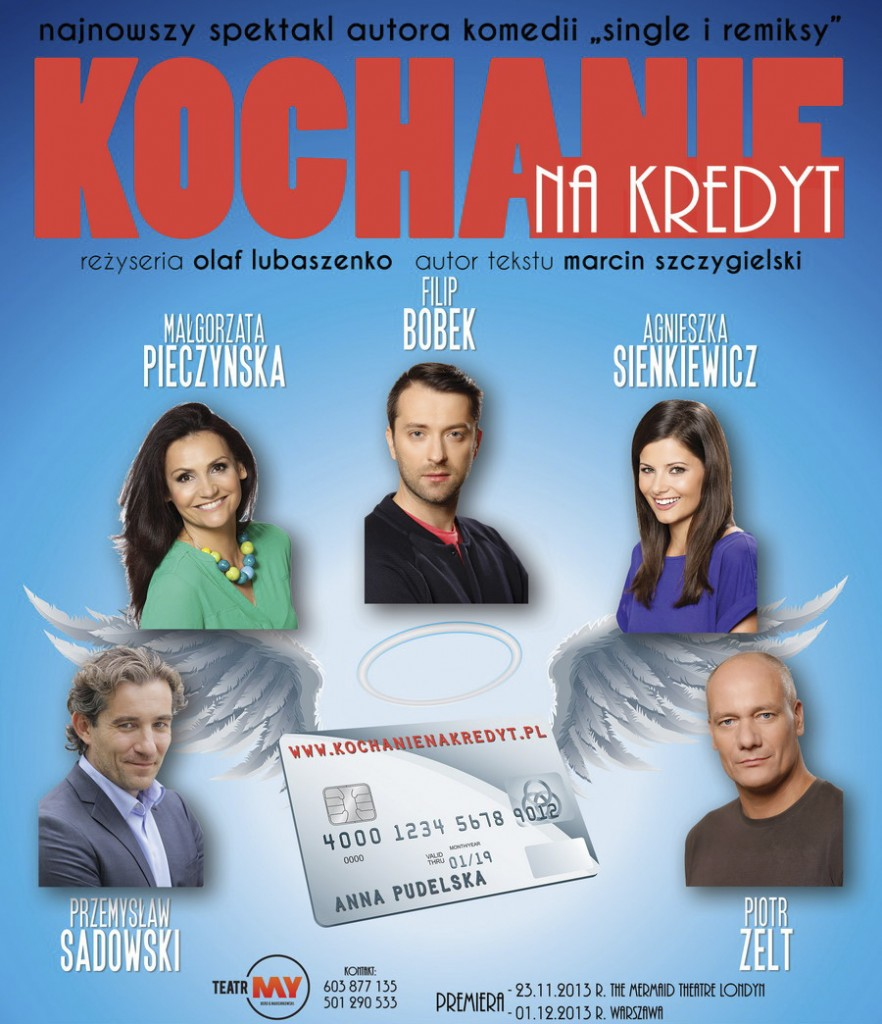 plakat kochanie na kredyt KnK_a4 - 900
