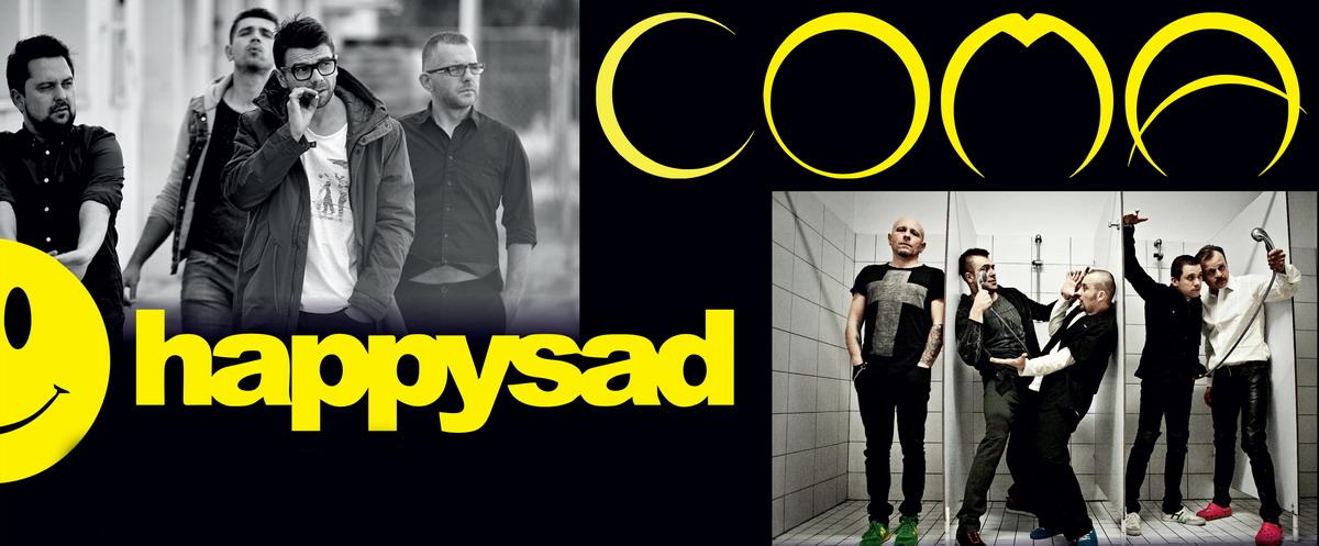Koncert Happy Sad Comaplakat z patronatami A3-kadr_retusz_1200